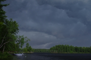 Storm Over Otter lake